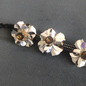 J. Crew Jewelry - Jcrew Rope Flower Bracelet
